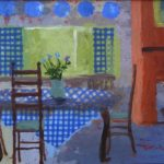 Terry Wise Kitchen Table  16x20